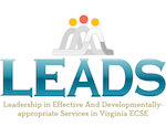 Leadership in Effective and Developmentally-appropriate Services in Virginia ECSE Logo