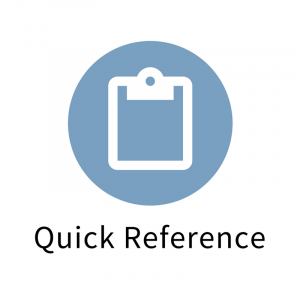 Quick Reference publication