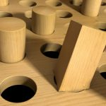 a square peg will not fit into a round hole